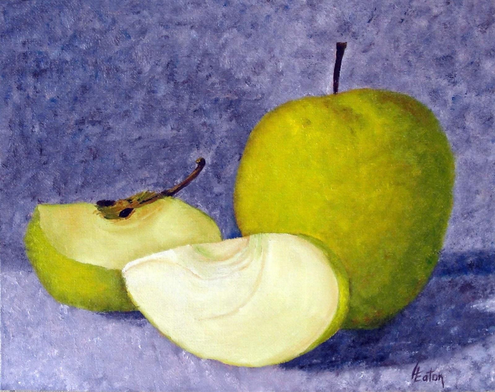 Word Weaver Art Yellow Apples