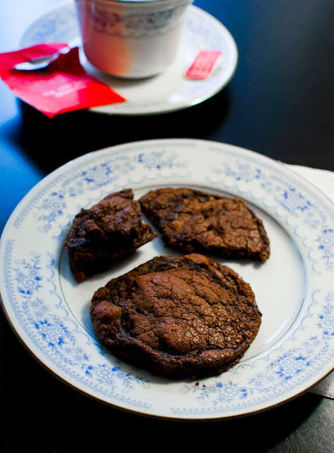 Nutella Chocolate Chunk Cookies from Buttercreamfanatic.com