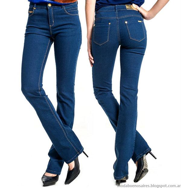 Moda jeans otoño invierno 2015 moda jeans mujer.