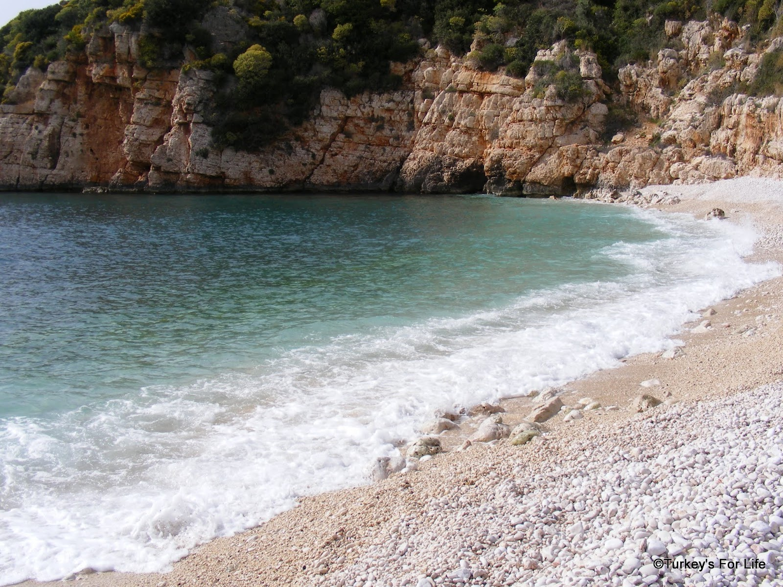 Two Kaş Beaches - Little Pebble Beach And Big Pebble Beach ...