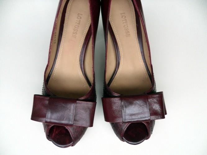 blog, moda, low cost, rebajas, saldos, chollos, moda a buen precio, fondo de armario, zapatos, lottusse, burdeos