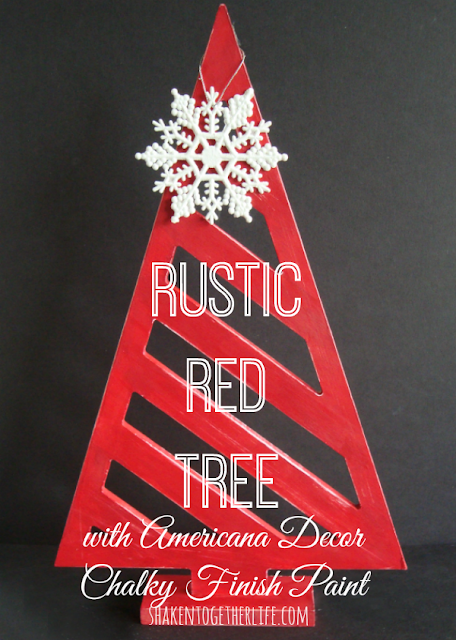 Rustic Red Tree
