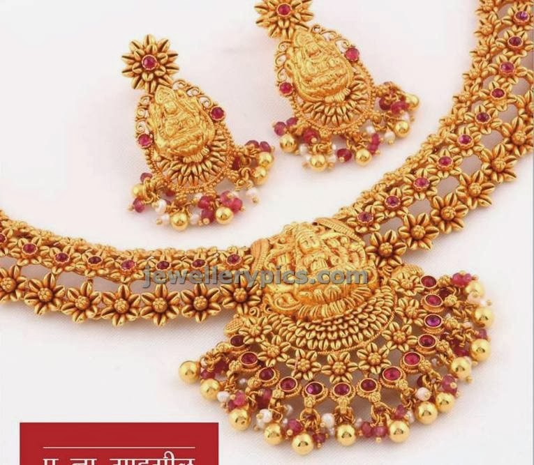 temple jewellery by pn gadgil and sons