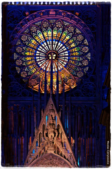 strasbourg cath drale illumination architecture human or. Black Bedroom Furniture Sets. Home Design Ideas