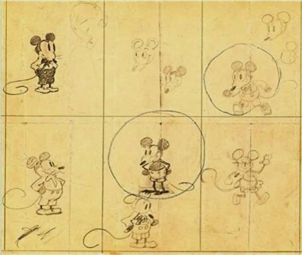El primer Mickey Mouse
