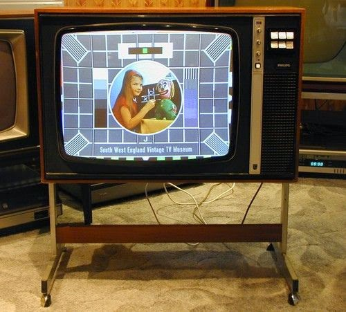 Seventies television set