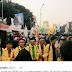 BEM seJABODETABEK dan Banten masih berdemonstrasi depan Istana sampai malam