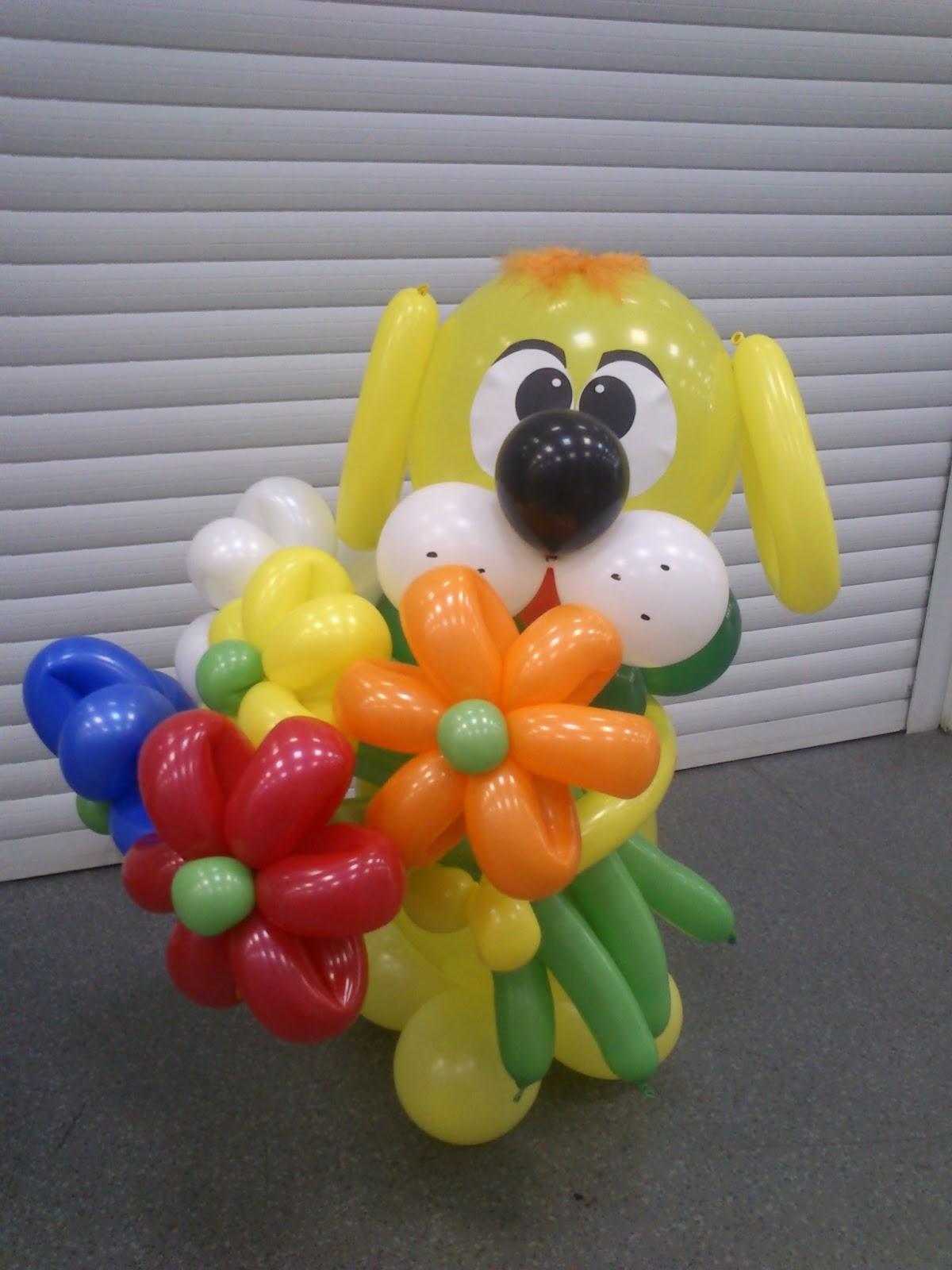 Поделки из шариков детям