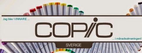 Winner at Copic Marker Sverige