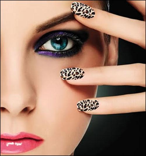 Diy Snow Leopard Nail Art: Signed By Tina: Beauty DIY....Leopard Nail Art