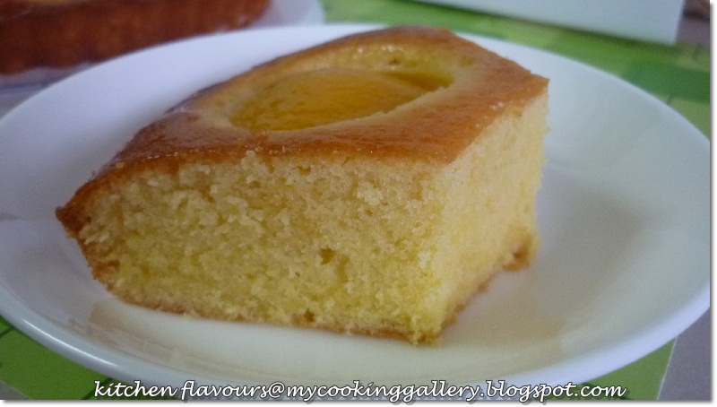 kitchen flavours: Peach Butter Cake