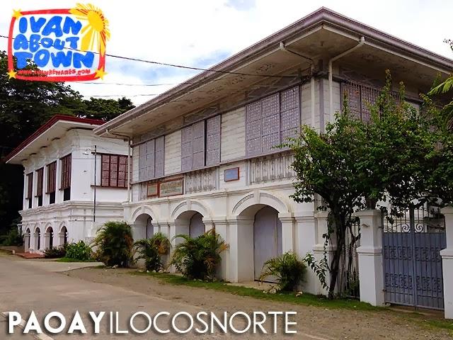 Diaz House & Carpio House, Paoay, Ilocos Norte