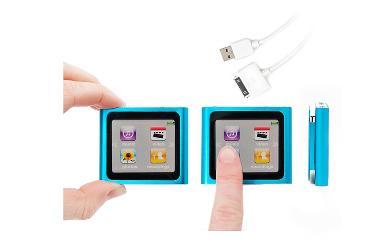Mp3 mp4 touch lettore digitale con registratore vocale e for Da mp4 a mp3