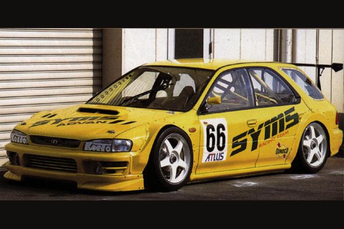 Subaru Impreza I GF JGTC