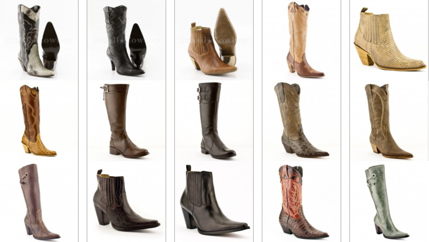 Botas Country Feminina 2012