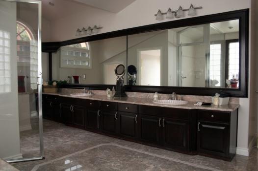 Should Vanity Lights Hang Over Mirror : Mrs.Homemaker: Elegance Reflections..