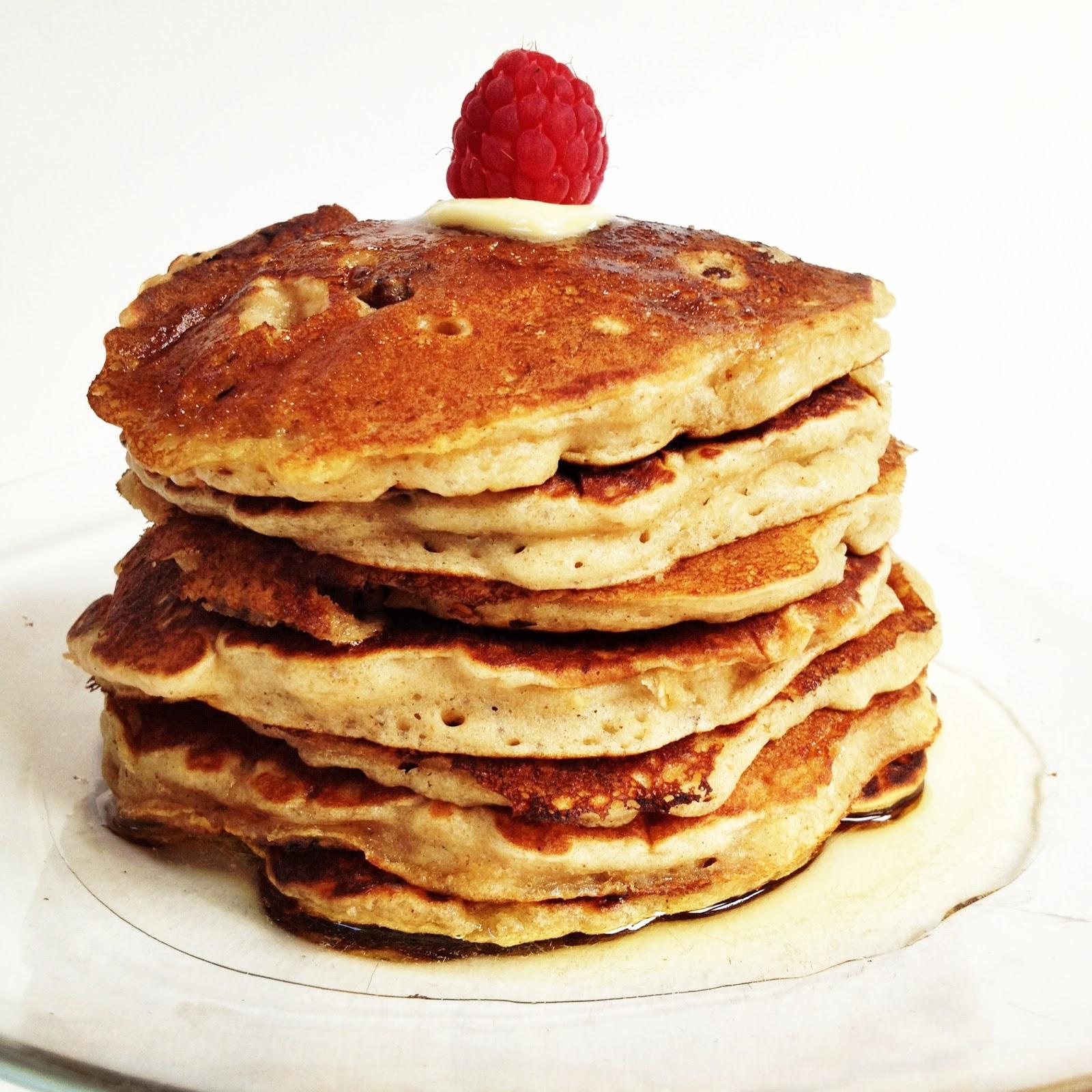 Edinburgh Eats: Oatmeal Cookie Pancakes