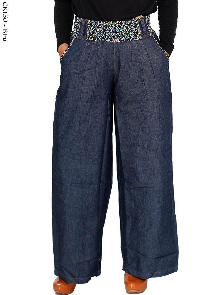 Ck150 Celana Kulot Jeans Busana Muslim Murah Terbaru