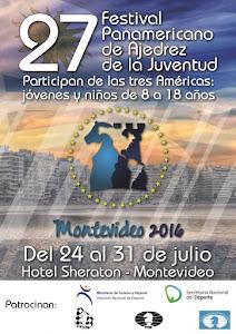 Montevideo (Uruguay) 27 Festival Panamericano de Ajedrez de la Juventud 2016 (Dar clic a la imagen)