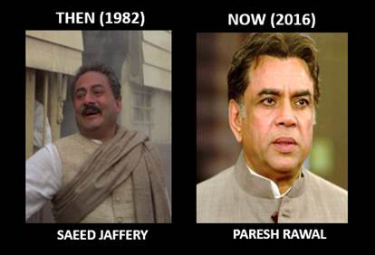 Paresh Rawal for the role of Sardar Patel
