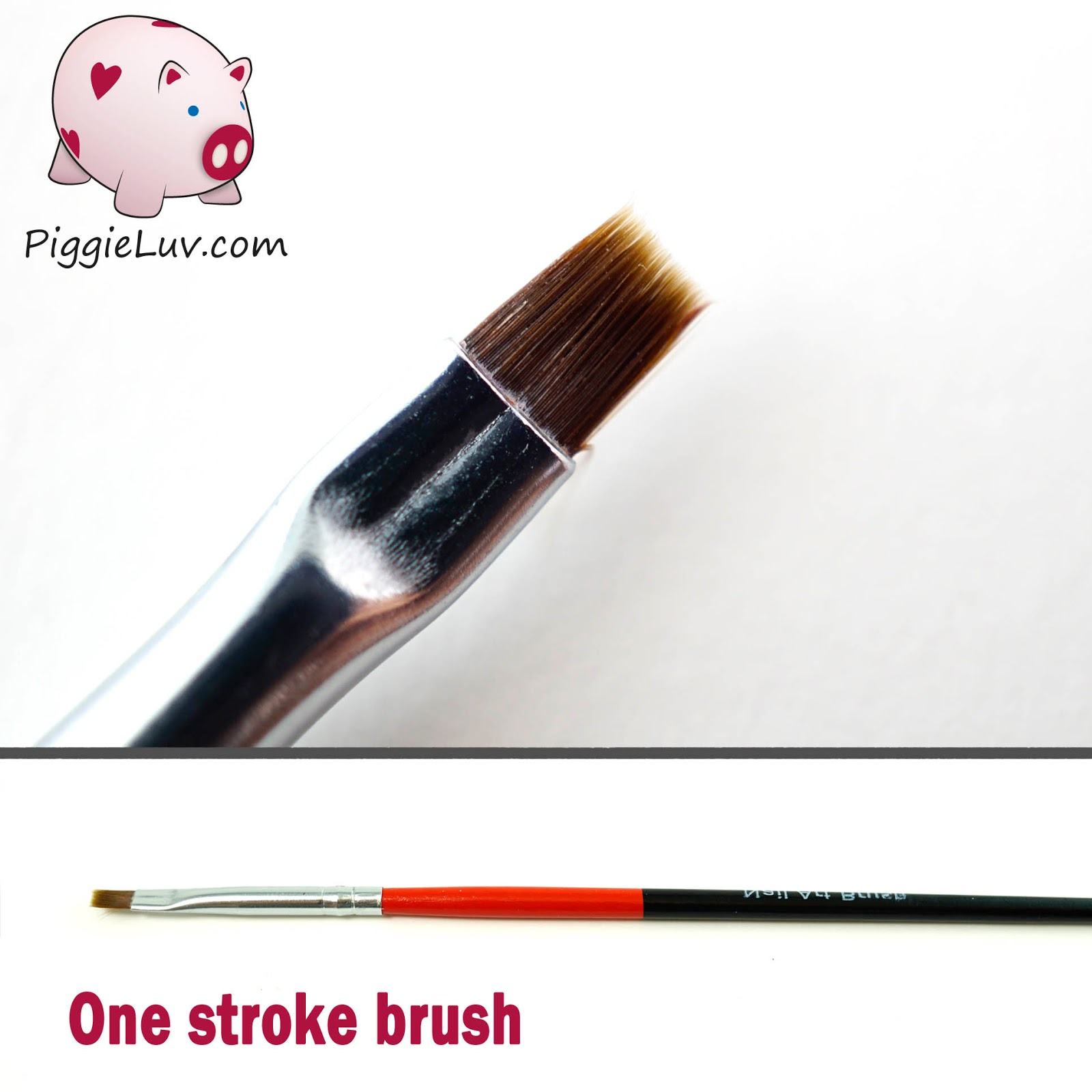 PiggieLuv: Behind The Nail Art - Brushes