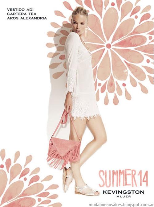 Kevingston Mujer 2014 Vestidos. Moda 2014.