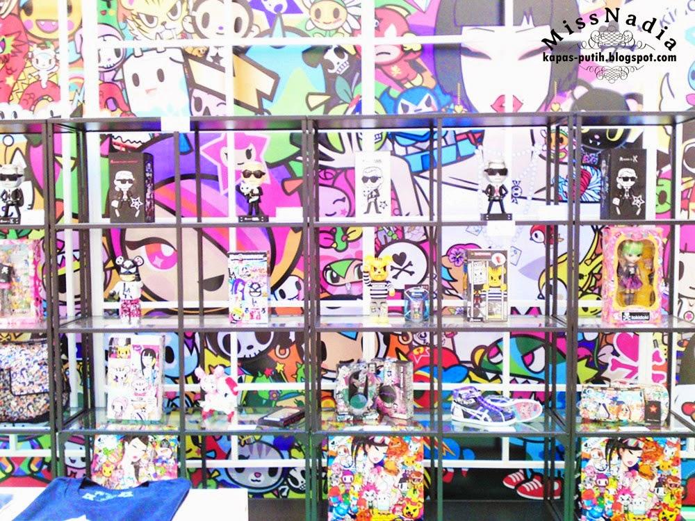 Tokidoki Cartoon Figure Fahrenheit, KL