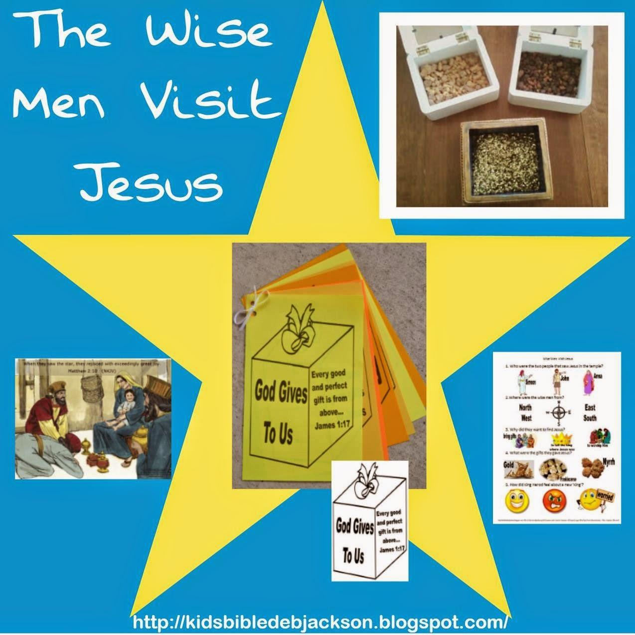 Bible fun for kids the wise men visit jesus for Three wise men craft