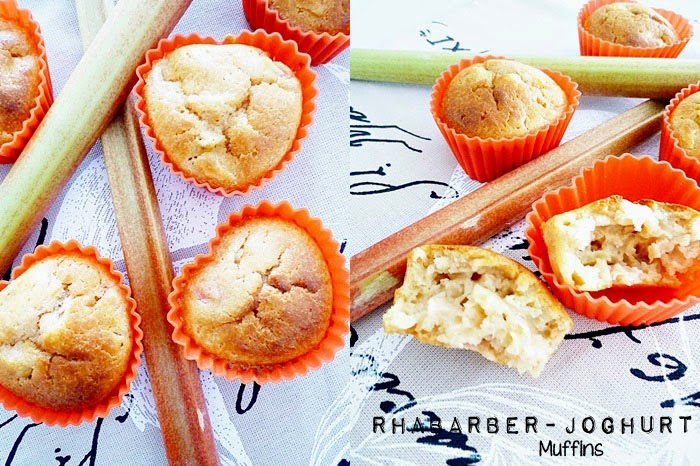 Rhabarber-Joghurt Muffins