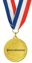 I received a gold medal in