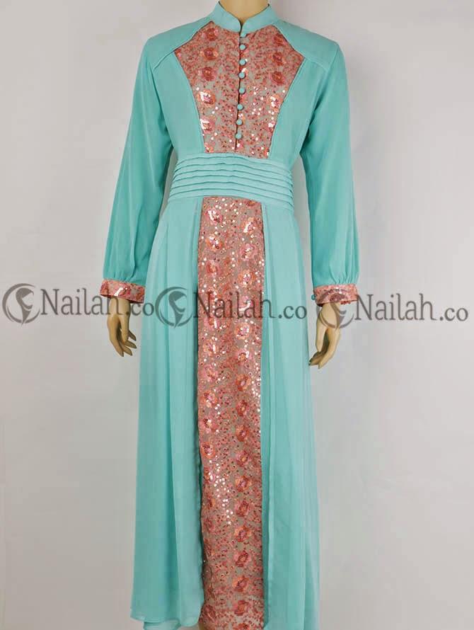 Baju Muslim Terbaru 2014 Koleksi Busana Lebaran Trend 2014