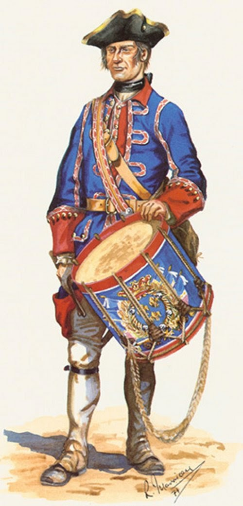 Royal Roussillon Infanterie Drummer picture 1