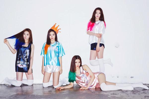 Red Velvet Happiness concept