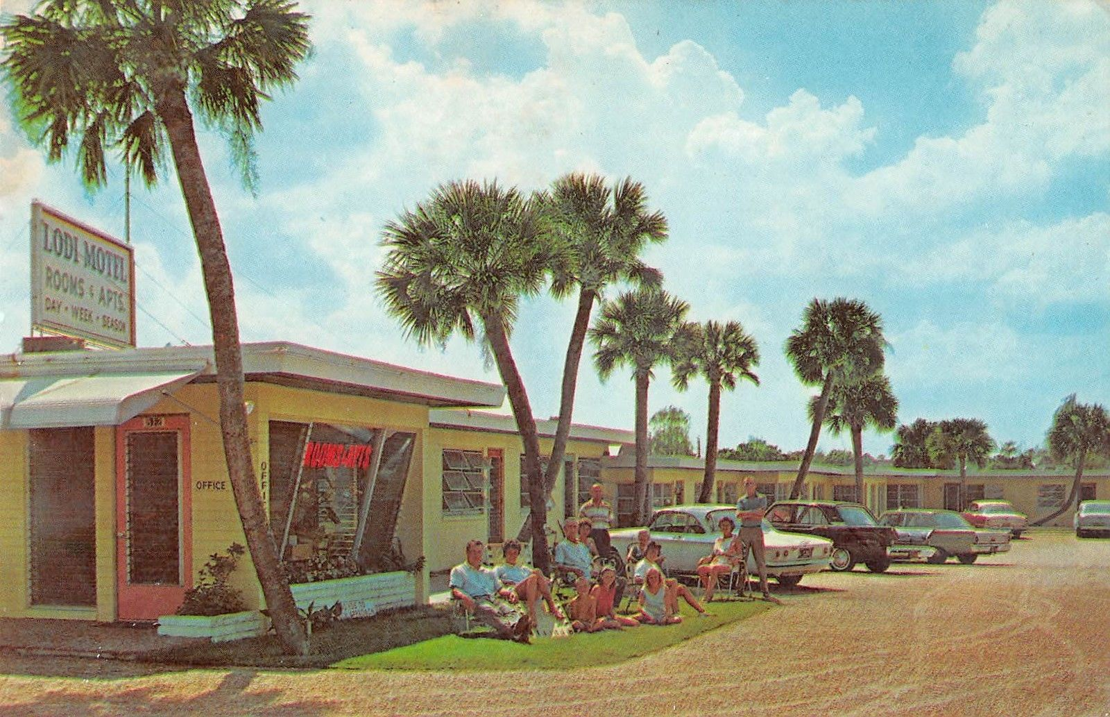 Fifties Land  Daytona Beach U0026 39 S Motels In The 1950s And 1960s