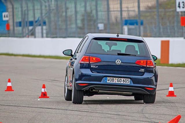 VW Golf 1.2 TSI - eixo de torção