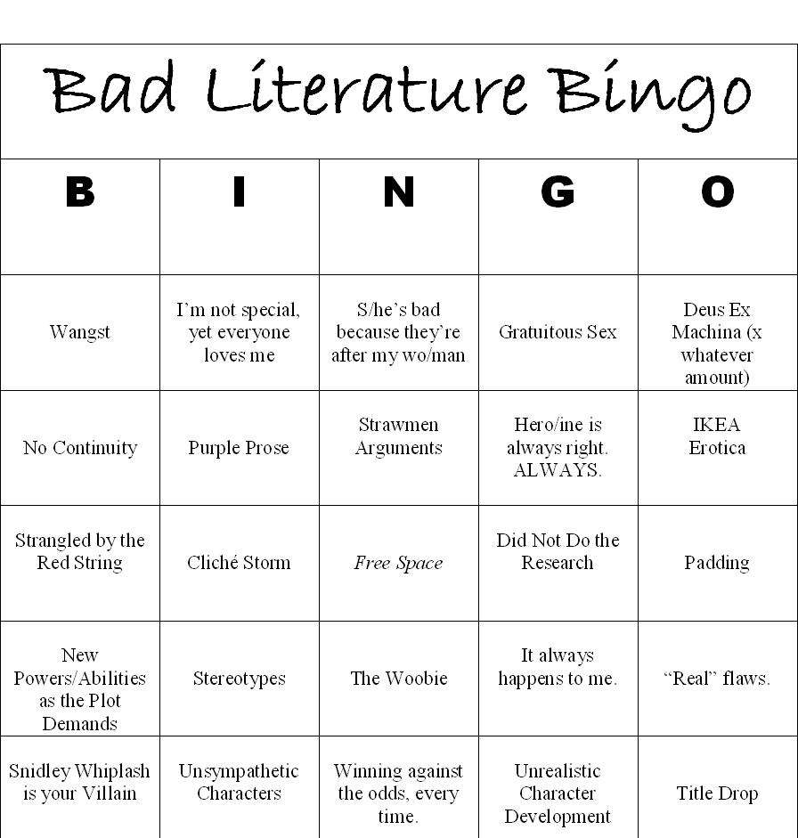 Book Goggles Bad Literature Bingo Fifty Shades Of Grey By E L James