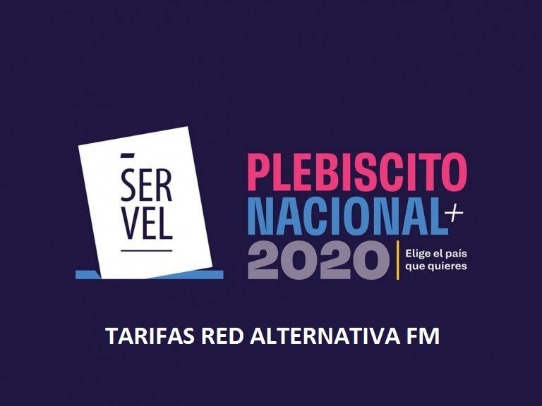 TARIFAS SERVEL 2020