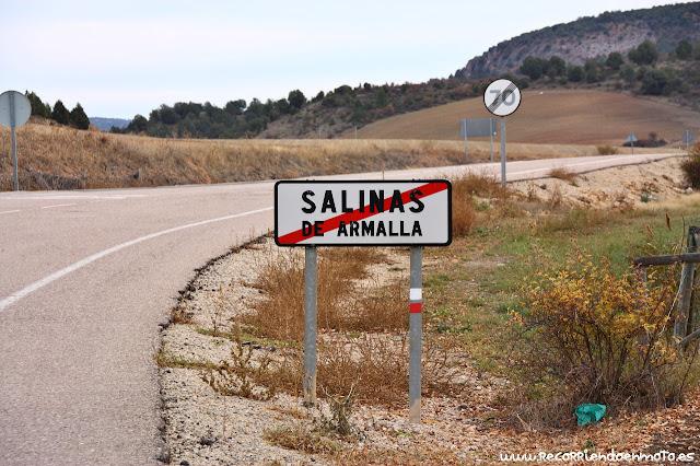 Fin de población Salinas de Armallá