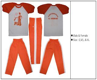 Model Pakaian Baju Olahraga Sekolah Terbaru