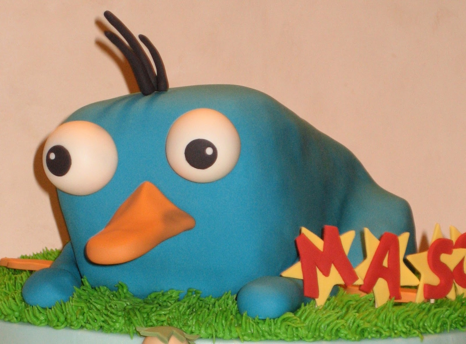 Perry The Platypus As A Baby Cake