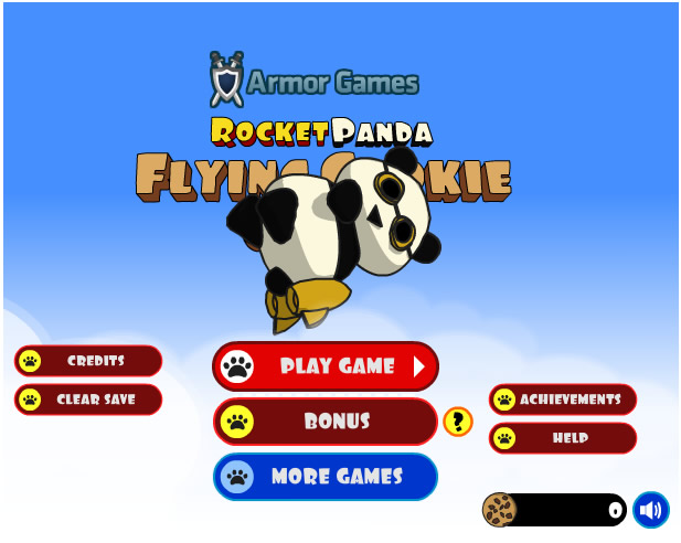 Armor Game : Flying Cookie Quest