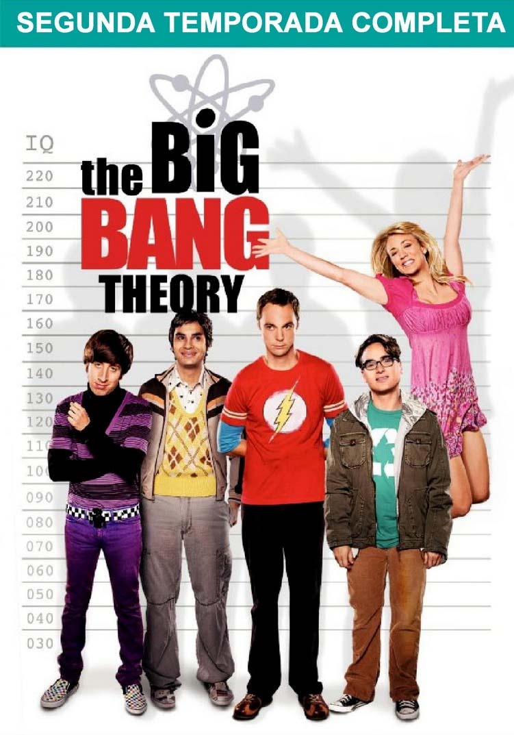The Big Bang Theory 2ª Temporada Torrent – BluRay 720p Dual Áudio (2008)