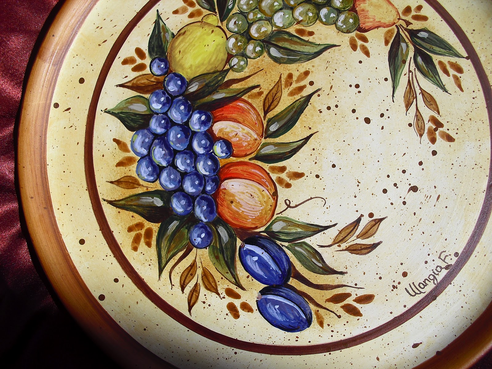 Fedarte marzo 2012 - Piatti di frutta decorati ...