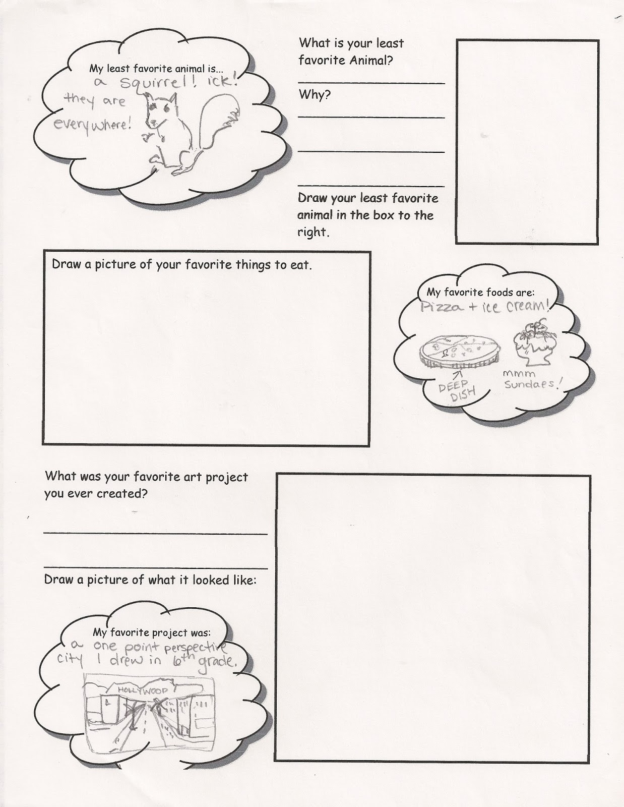 No Corner Suns Art Me Get to know your students while they get – Getting to Know You Worksheet