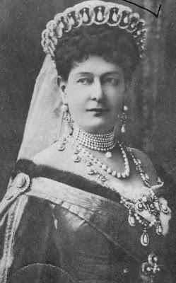 Grande-duchesse Maria Pavlovna, née duchesse Marie zu Mecklenburg 1854-1920