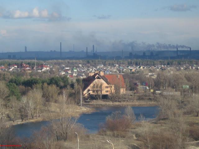 Весна в Днепродзержинске.