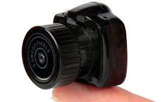 Kamera terkecil di dunia