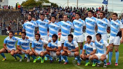 Plantel de Los Pumas para jugar ante Chile