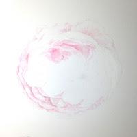 rose watercolour work in progress