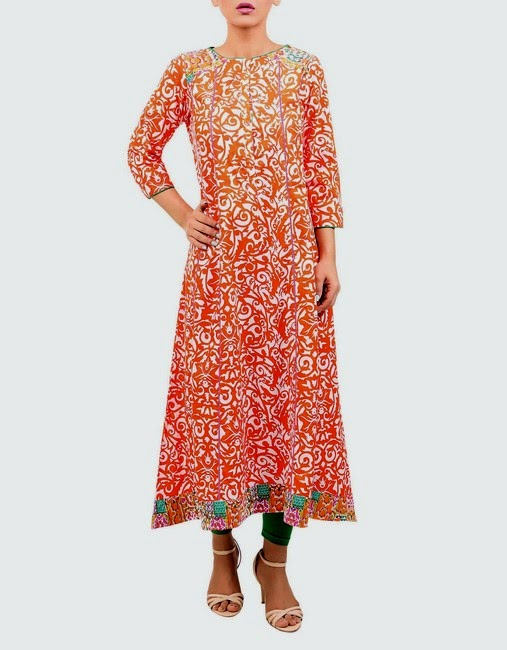 Rang-Ja Presents Eid Dress Collection for Girls